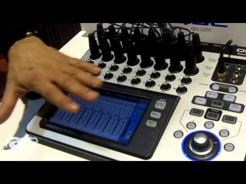 ISE 2016: AED group Features Touch Mix Compact Digital Mixer