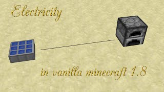 Electricity in vanilla Minecraft II [HD]