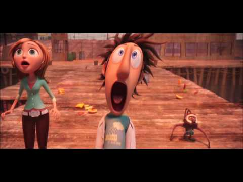 Cloudy With A Chance of Meatballs (2009) Trailer 720p