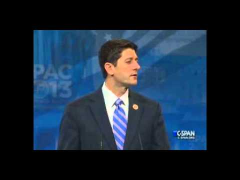 Paul Ryan's Full Remarks at CPAC 2013