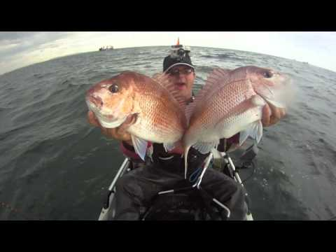 I See Real Wild Red - Kayak Snapper Fishing