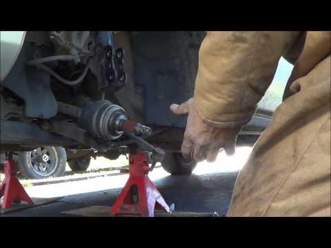 99 Toyota Sienna Wheel Bearing Part 1