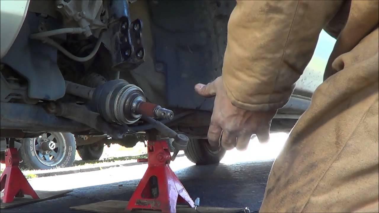 99 Toyota Sienna Wheel Bearing Part 1 Youtube