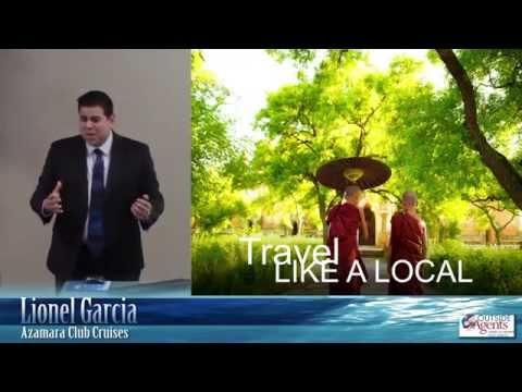 Azamara Club Cruises - Lionel Garcia Live Presentation