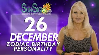 Facts & Trivia - Zodiac Sign Capricorn December 26th Birthday Horoscope