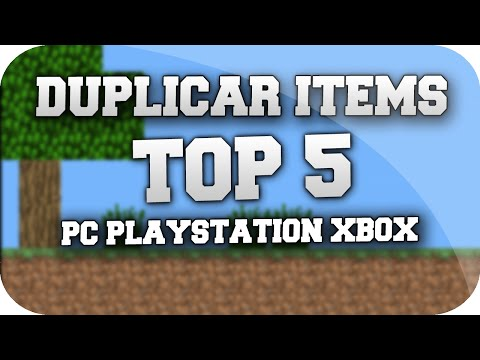 Minecraft Truco - TOP 5 Para Duplicar Cualquier Items/Objecto PC. TU19 PLAYSTATION. XBOX