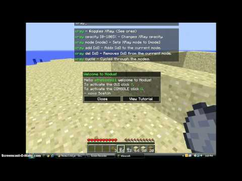 How to Install Nodus in minecraft-1.4.6