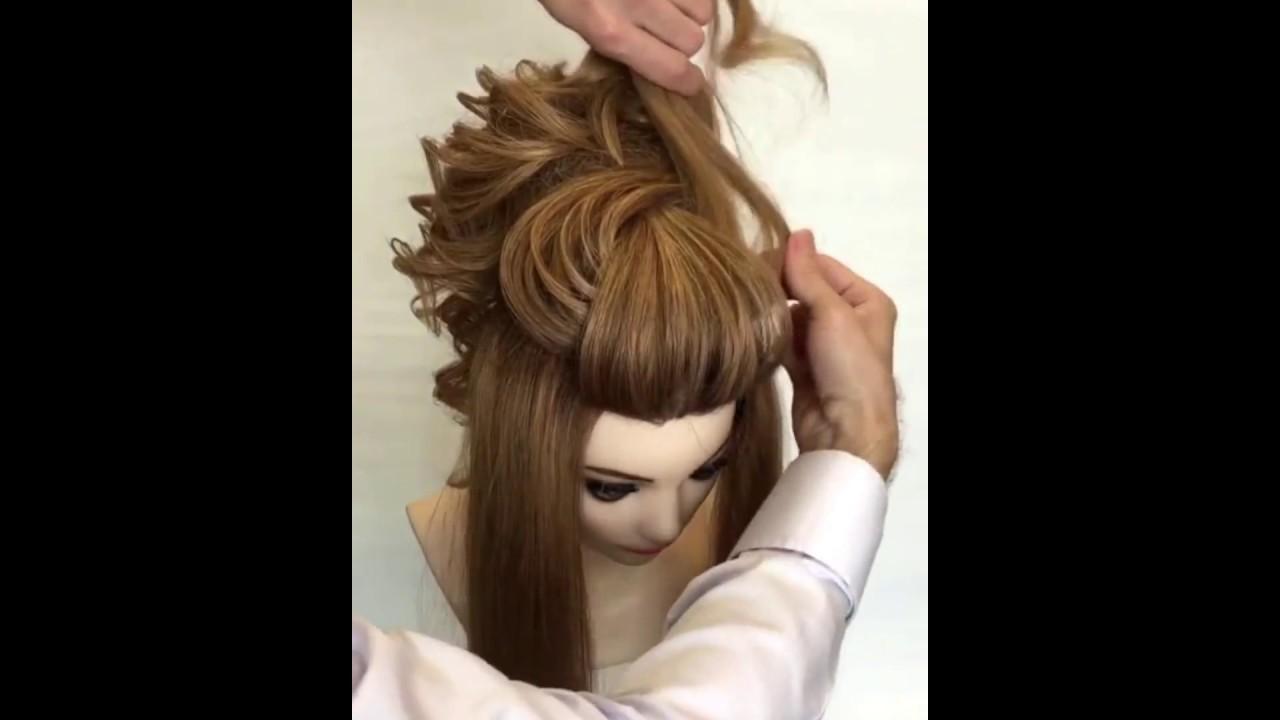 Ютуб причёска своими руками 218