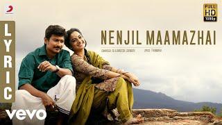 Nimir Nenjil Maamazhai Lyric | Udhayanidhi Stalin, Namitha Pramod, Parvatii