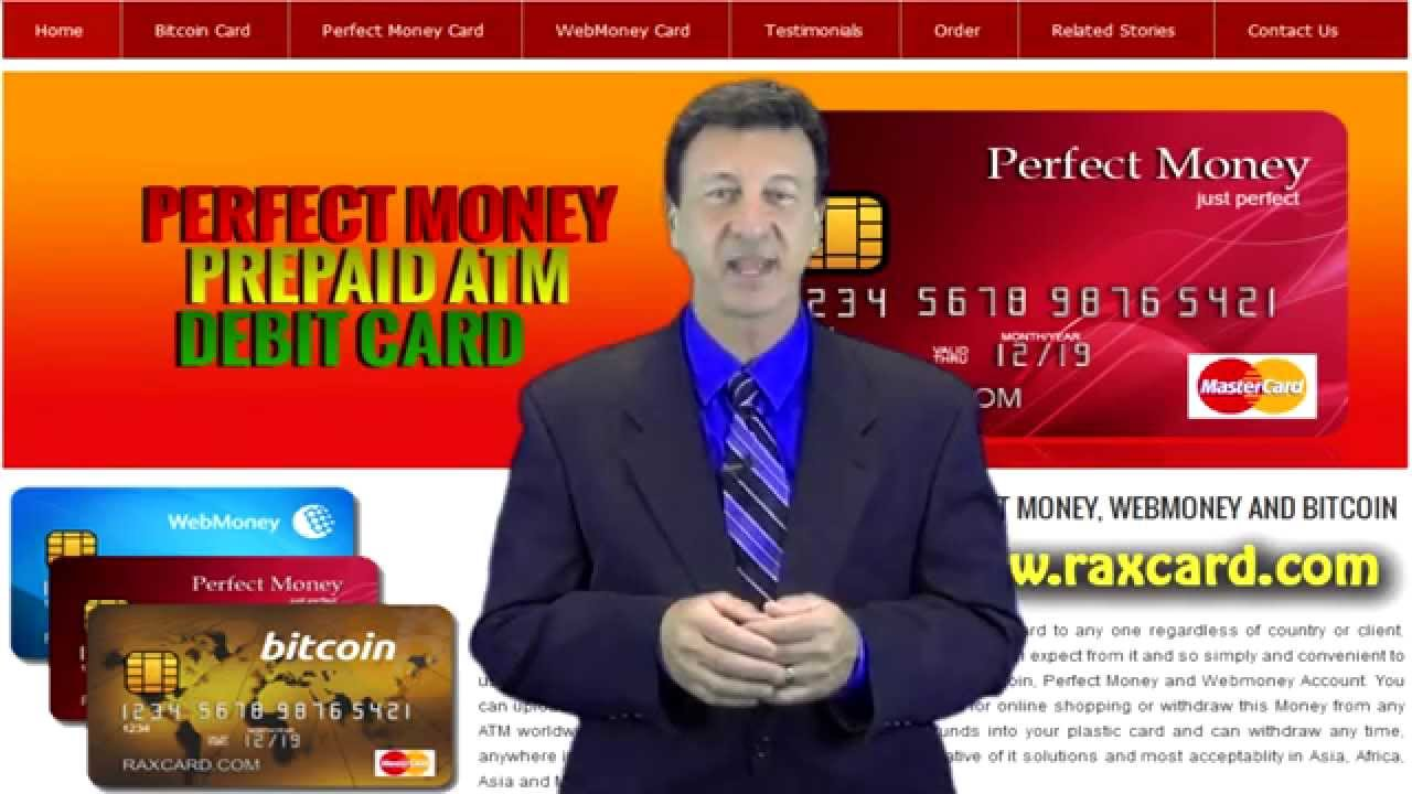 American Based Perfect Money ATM Debit Card with Perfect Mon...