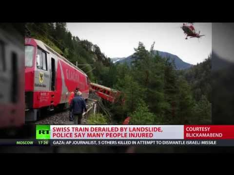 'Serious' train derailment in Swiss Alps, many feared injured