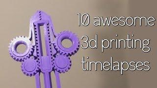 Satisfying 3D Print TimeLapse Compilation 3 (Prusa I3 Mk3 Octolapse)