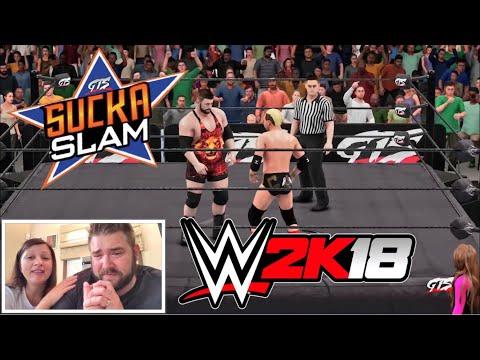 WWE 2K18 Grim vs James Ellsworth for the Youtube Championship