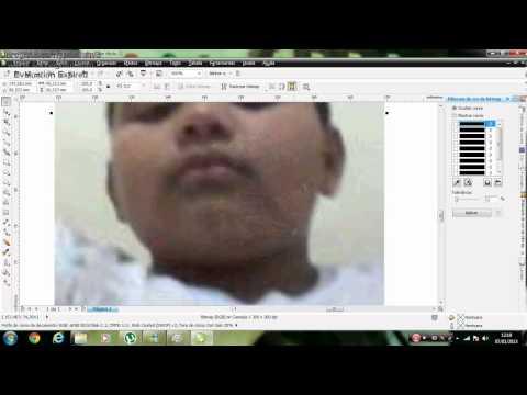 Como remover fundo de uma imagem usando o CorelDRAW X5