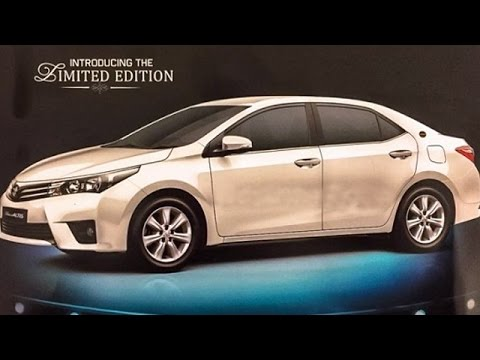 Toyota Corolla Altis Limited Edition Launched For Rs 14.68 Lakh