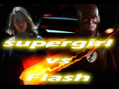 Supergirl vs Flash 超少女與閃電俠