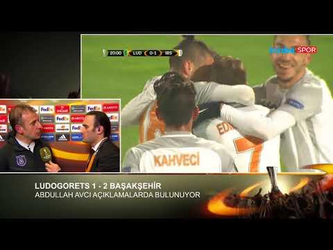 Abdullah Avcı Röportajı (Ludogorets - Başakşehir Maç Sonu)