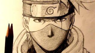 ASMR | Pencil Drawing 73 | Kakashi (Request)
