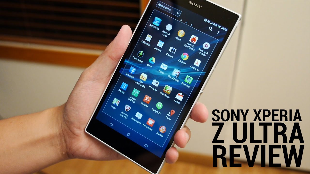 Sony Xperia Z Ultra Review Youtube