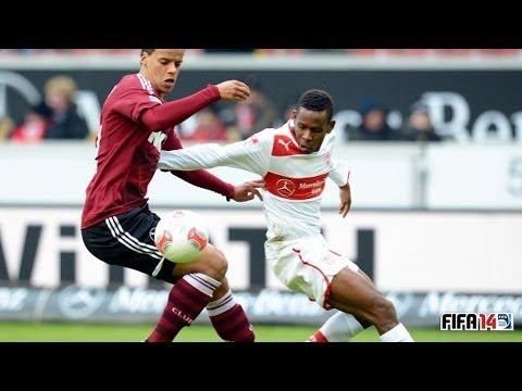 1.FC Nürnberg 2 : 0 VfB Stuttgart - 26.März - Bundesliga 27.Spieltag [FIFA 14 Prognose]