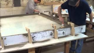GFRC Shower Pan - Glass Fiber Reinforced Concrete