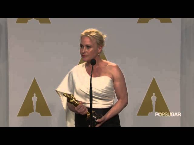 Boyhood's Patricia Arquette Talks Best Supporting Actress Win in the Oscars Press Room