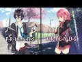 Nightcore FRIENDS Switching Vocals Lyrics mp3