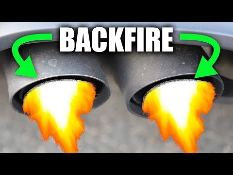 Why Cars Backfire - Afterfire - Explained