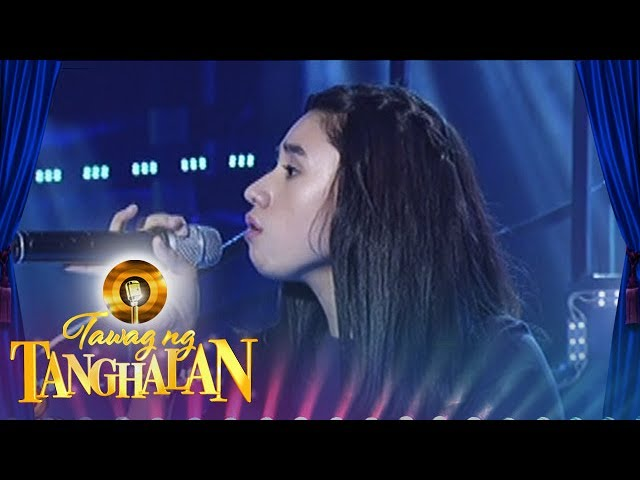 Tawang ng Tanghalan:Nikki Apolinar | All I Ask
