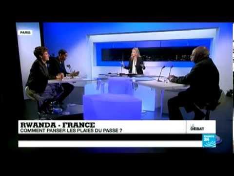 Debat: Twagiramungu Faustin sur T.V FRANCE 24  (04-01-2014)  Partie 2