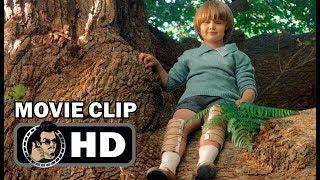 GOODBYE CHRISTOPHER ROBIN Movie Clip- Times Visits (2017) Domhnall Gleeson Winnie The Pooh Drama HD
