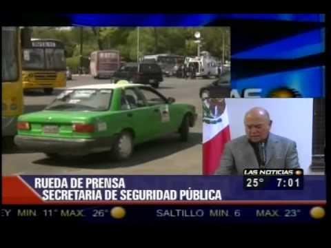 Enfrentamientos Balaceras Bloqueos Y Entrevista SSPE 19/03/10 TELEVISA MONTERREY 1/2