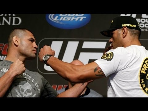UFC 160 Velasquez vs Silva II  Main Card WeighIn