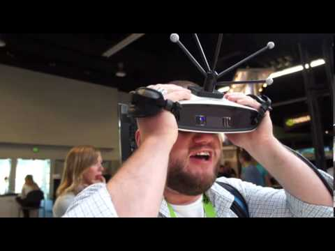 Canon MREAL Mixed Reality (hands-on)   Engadget at SIGGRAPH 2013