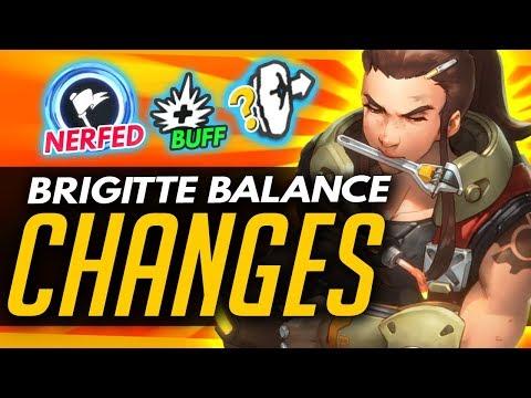 Overwatch | BRIGITTE BALANCE CHANGES - PTR Update + News