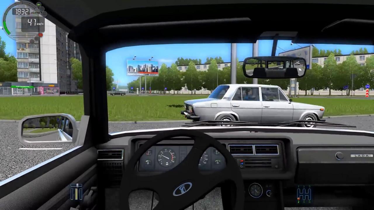 Как сделать машину в city car driving