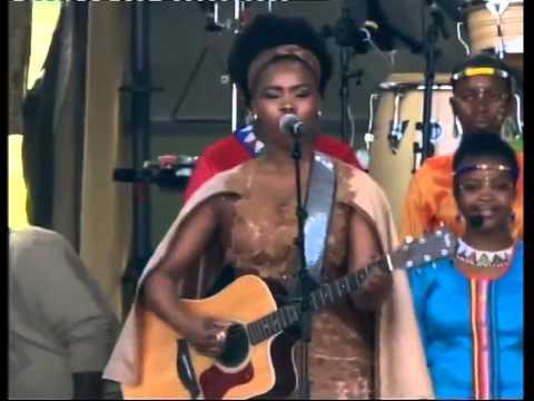 Presidential Inauguration 2014 Performance 1 - Botlhale, Zahara, Yvonne Chaka Chaka video