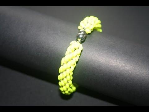 Tutorial di un Bracciale con le perline Superduo - Millelucistones.com