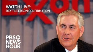 WATCH LIVE: Rex Tillerson confirmation hearing
