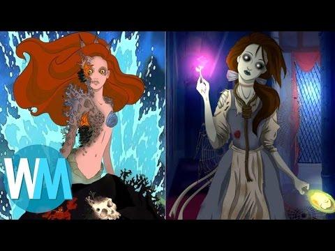 10 Des Origines Glauques Derri Re Les Disney