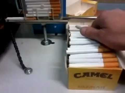automated cigarette machine