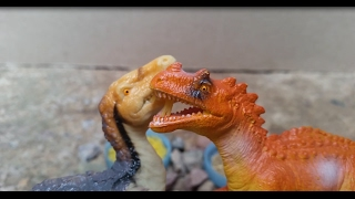 Dinosaurs Chasing Fight Battle For Food Dinosaurs for Kids Children Toy