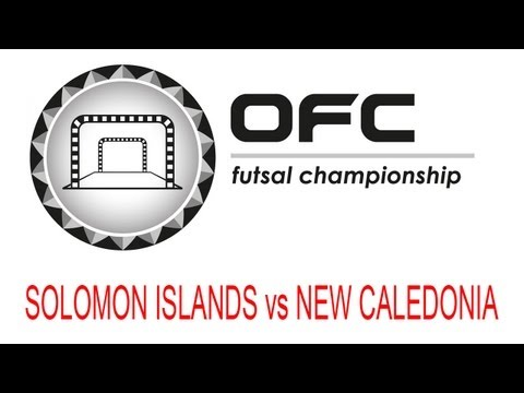 2013 OFC Futsal Championship Invitational Match Day 2 Solomon Islands vs New Caledonia