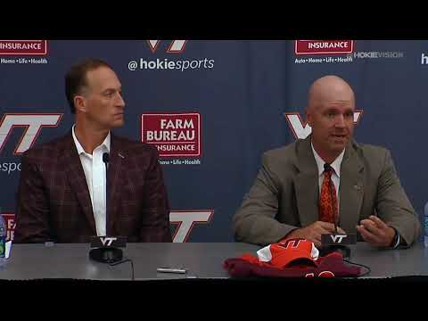 VT Introduces New Softball Head Coach Pete D'Amour