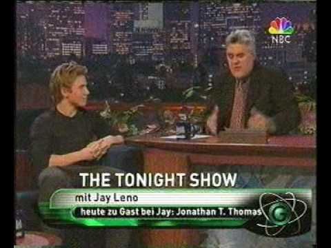 Jonathan Taylor Thomas on Jay Leno 1998 Video