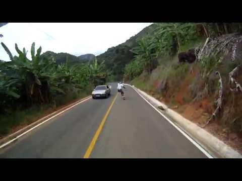 Skate Downhill ES - Drop Duas Bocas - Cariacica-ES- downhill speed gopro - Rubim Downhill