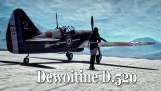Dewoitine D.520  - Teaser