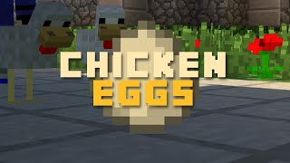 When Chickens Lay Eggs... (Minecraft Machinima)