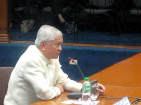 Roilo Golez, Commission on Appointments, DFA Sec. del Rosario, 31 May 2011 (2)