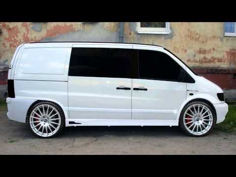 mercedes benz vito w638 tuning cars